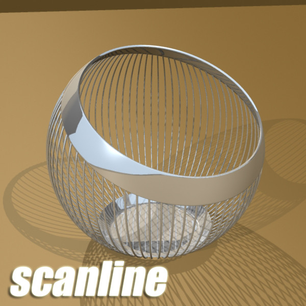 metal basket collection 3d model 3ds max fbx obj 133702
