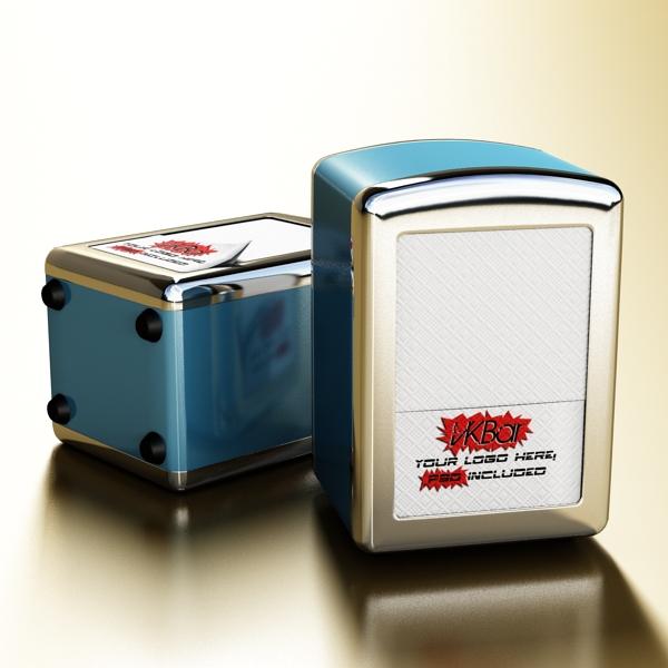 napkin dispenser 1 3d model 3ds max fbx obj 147079