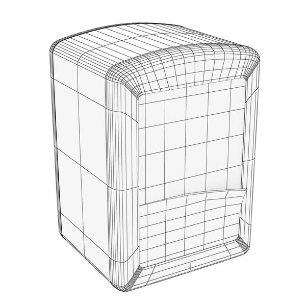 napkin dispenser 1 3d model 3ds max fbx obj 147081