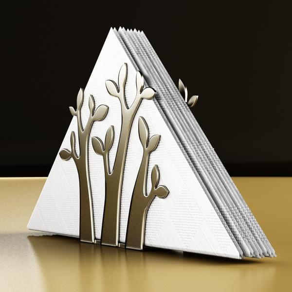 napkin holder 3. 3d model 3ds max fbx obj 147239