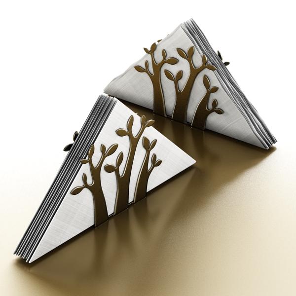 napkin holder 3. 3d model 3ds max fbx obj 147240