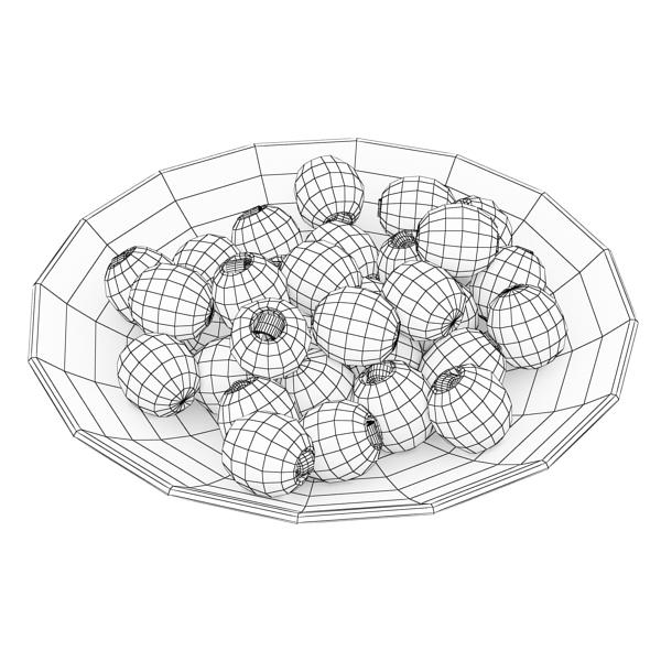 olives plate 3d model 3ds max fbx obj 148065