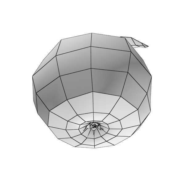 pear high resolution 3d model 3ds max obj 132885