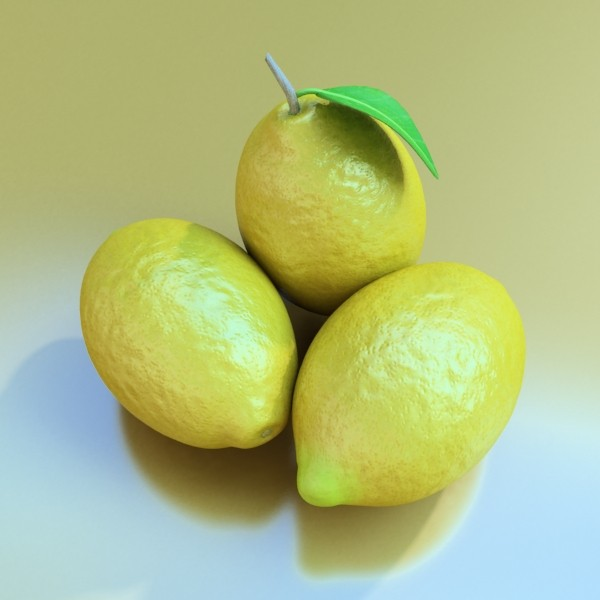 photorealistic fruits collection 3d model 3ds max fbx obj 134352