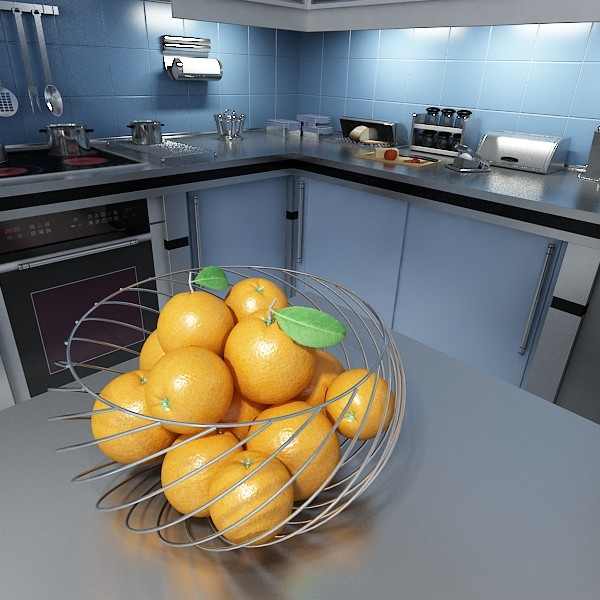 photorealistic fruits collection 3d model 3ds max fbx obj 134362