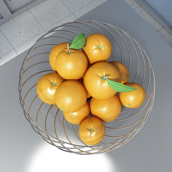 photorealistic fruits collection 3d model 3ds max fbx obj 134364