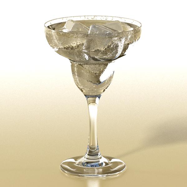 photorealistic glass 01 3d model 3ds max fbx obj 140692