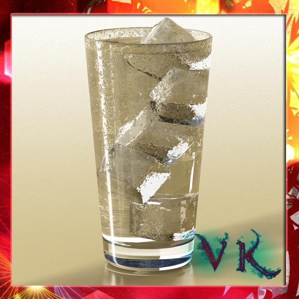 photorealistic glass 02 3d model 3ds max fbx obj 140698