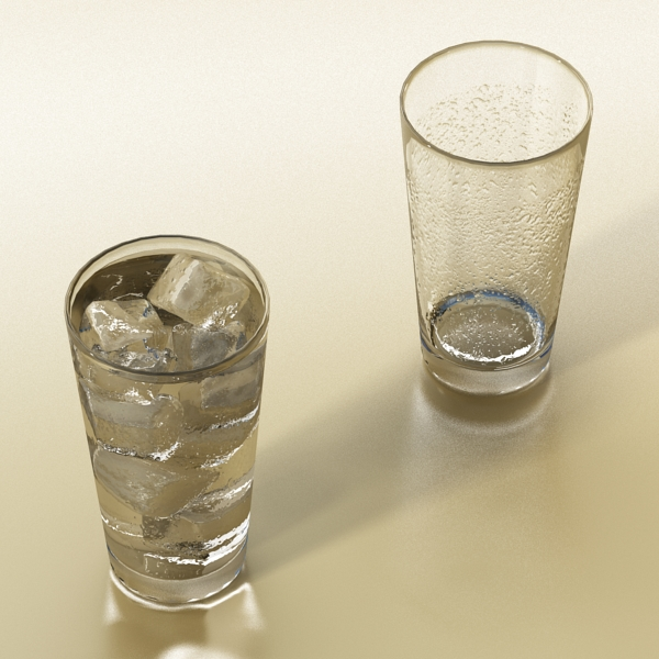photorealistic glass 02 3d model 3ds max fbx obj 140699