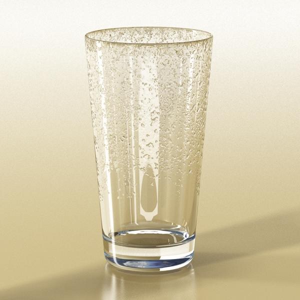 photorealistic glass 02 3d model 3ds max fbx obj 140701