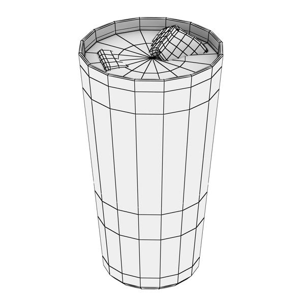 photorealistic glass 02 3d model 3ds max fbx obj 140703
