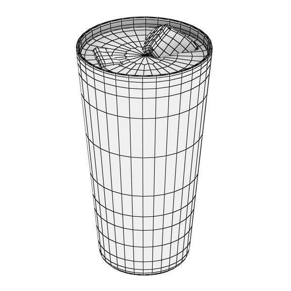 photorealistic glass 02 3d model 3ds max fbx obj 140704
