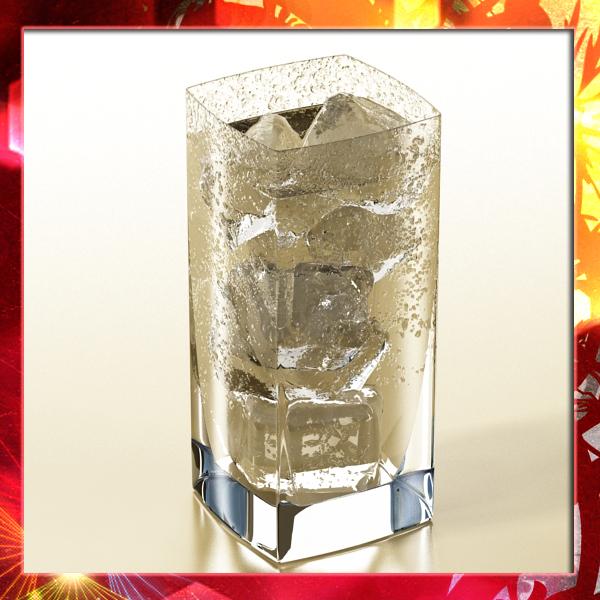 photorealistic glass 4 3d model 3ds max fbx obj 140720