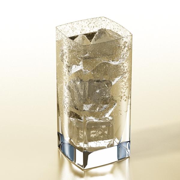 photorealistic glass 4 3d model 3ds max fbx obj 140721