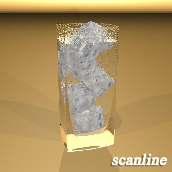 photorealistic glass 4 3d model 3ds max fbx obj 140724