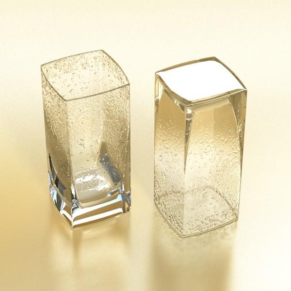photorealistic glass 4 3d model 3ds max fbx obj 140725
