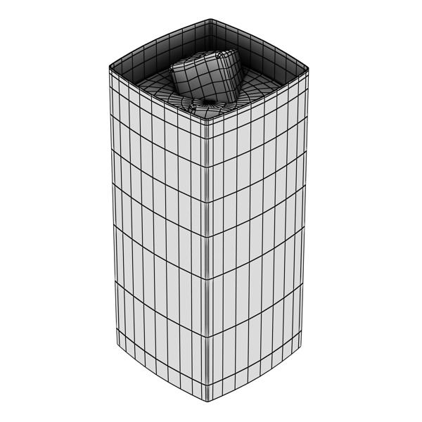 photorealistic glass 4 3d model 3ds max fbx obj 140727
