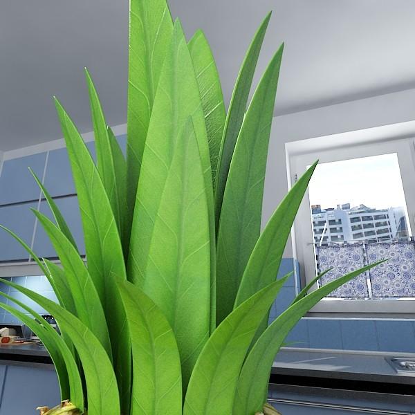 pineapple high detail 3d model 3ds max fbx obj 132986