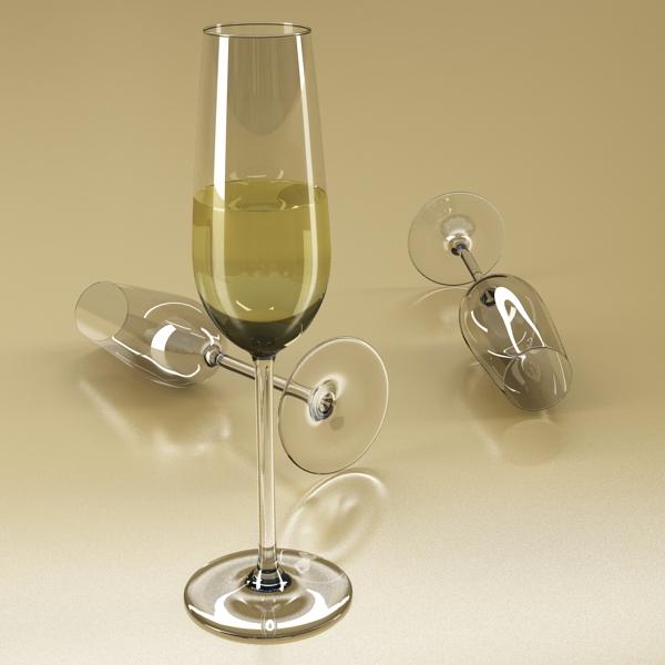 цагаан дарсны лонх, аяга 2 3d загвар 3ds max fbx obj 145255