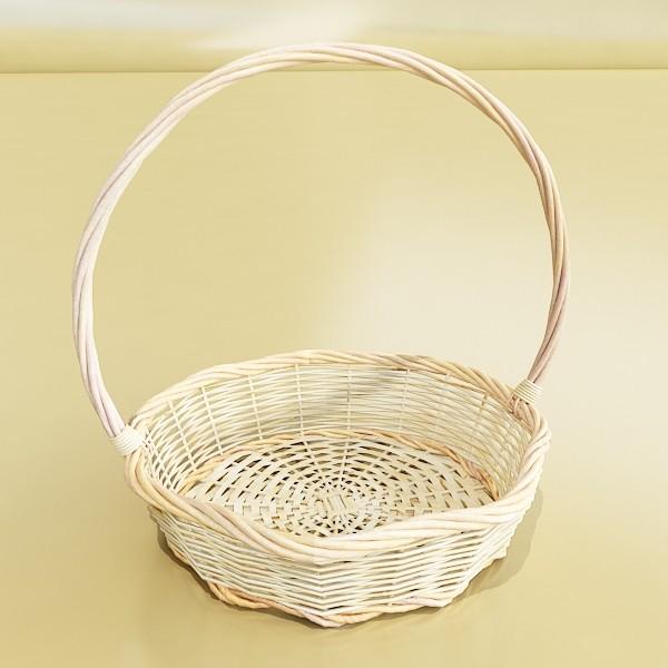 wicker basket 3d model 3ds max fbx obj 132828
