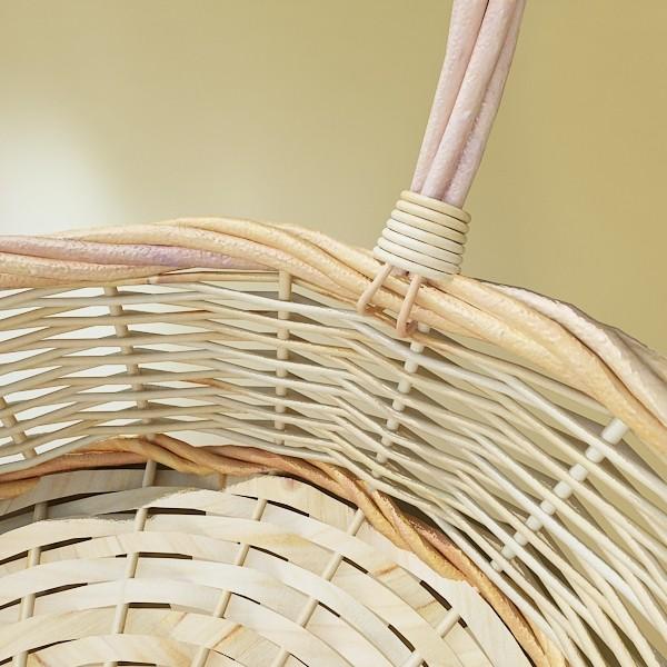 wicker basket 3d model 3ds max fbx obj 132829