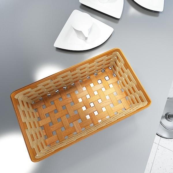 wicker fruit or bread basket 3d model 3ds max fbx obj 132975