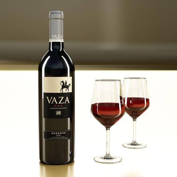 wine bottles rack 2 3d model 3ds max fbx obj 145825