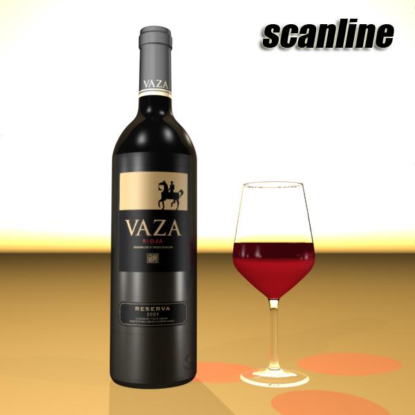 wine bottles rack 2 3d model 3ds max fbx obj 145834
