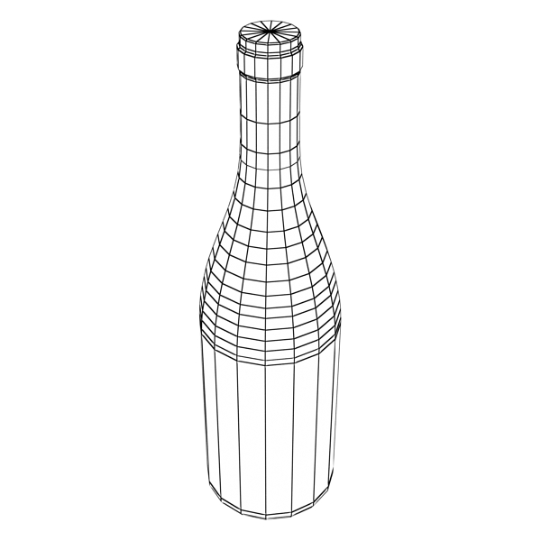 wine bottles rack 2 3d model 3ds max fbx obj 145848