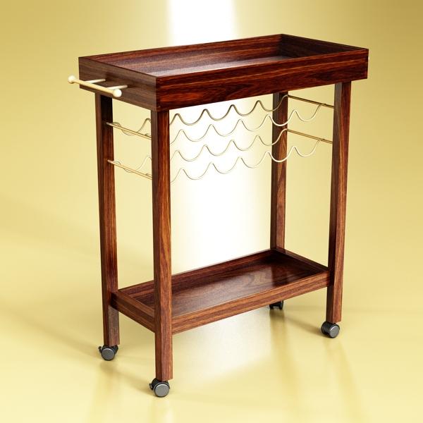 wine table rack 1 3d model 3ds max fbx obj 146568
