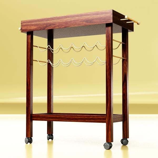 wine table rack 1 3d model 3ds max fbx obj 146569