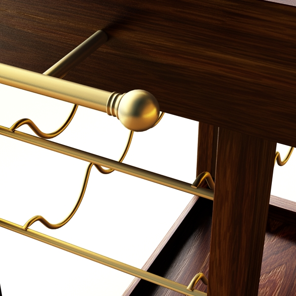 wine table rack 1 3d model 3ds max fbx obj 146570