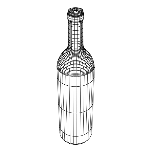 wine bottle rack 1 3d model 3ds max fbx obj 145782