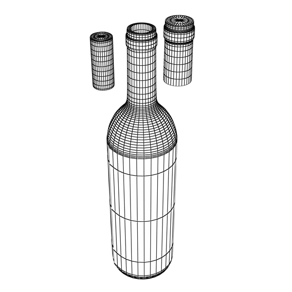 wine bottle rack 1 3d model 3ds max fbx obj 145793