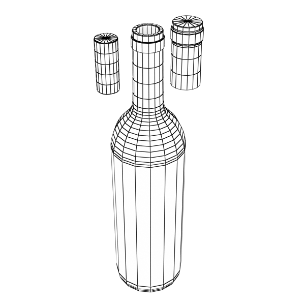 wine bottle rack 1 3d model 3ds max fbx obj 145794