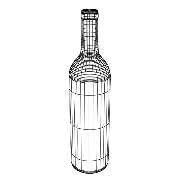 wine bottle rack 1 3d model 3ds max fbx obj 145803