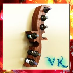 Wine Bottle Rack 1 ( 270.9KB jpg by VKModels )