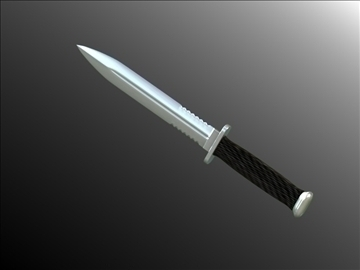 model dagger v2 3d 3ds fbx blend hrc xsi obj 103598