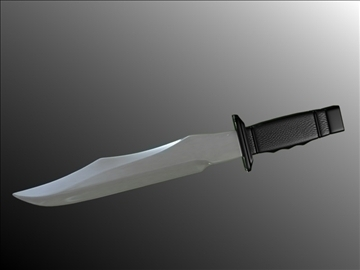 model dagger v3 3d 3ds fbx blend hrc xsi obj 103603