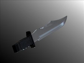 dagger v3 3d modelis 3ds fbx blend hrc xsi obj 103604