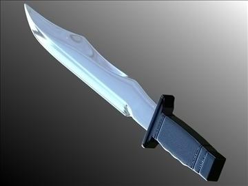 dagger v3 3d modelis 3ds fbx blend hrc xsi obj 103605