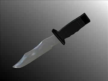 dagger v3 3d modelis 3ds fbx blend hrc xsi obj 103606