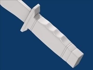 dagger v3 3d modelis 3ds fbx blend hrc xsi obj 103609