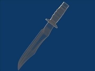 dagger v3 3d modelis 3ds fbx blend hrc xsi obj 103611