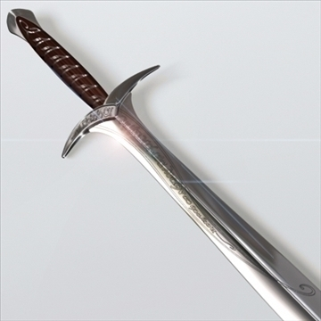 sting sword.zip 3d model 3ds dxf fbx c4d x obj 96873