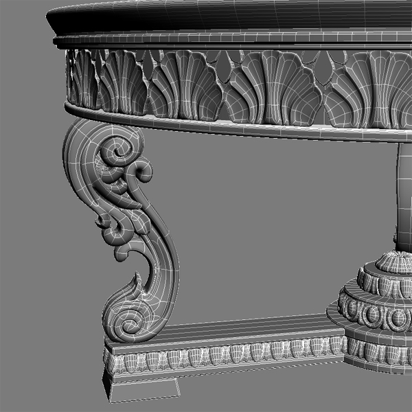 a coffee table 3d model 3ds max fbx texture obj 120789