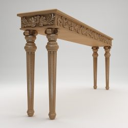 Classical style console table ( 184.53KB jpg by ComingSoon )