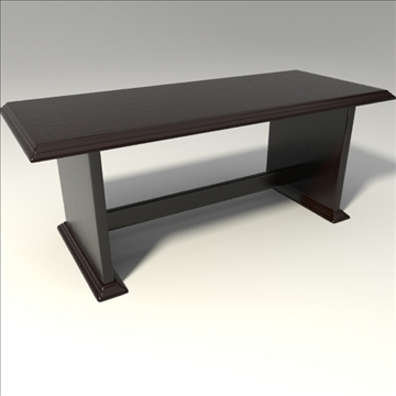 coffee table 3d model 3ds blend obj 103654