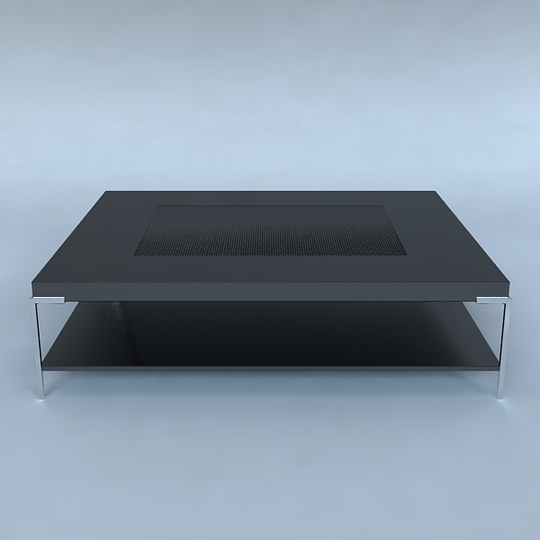 coffee table contemporary style 3d model 3ds max fbx obj 120981