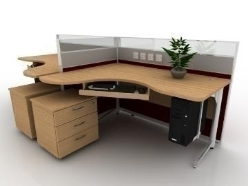 executive workstation v4 3d model max 77167